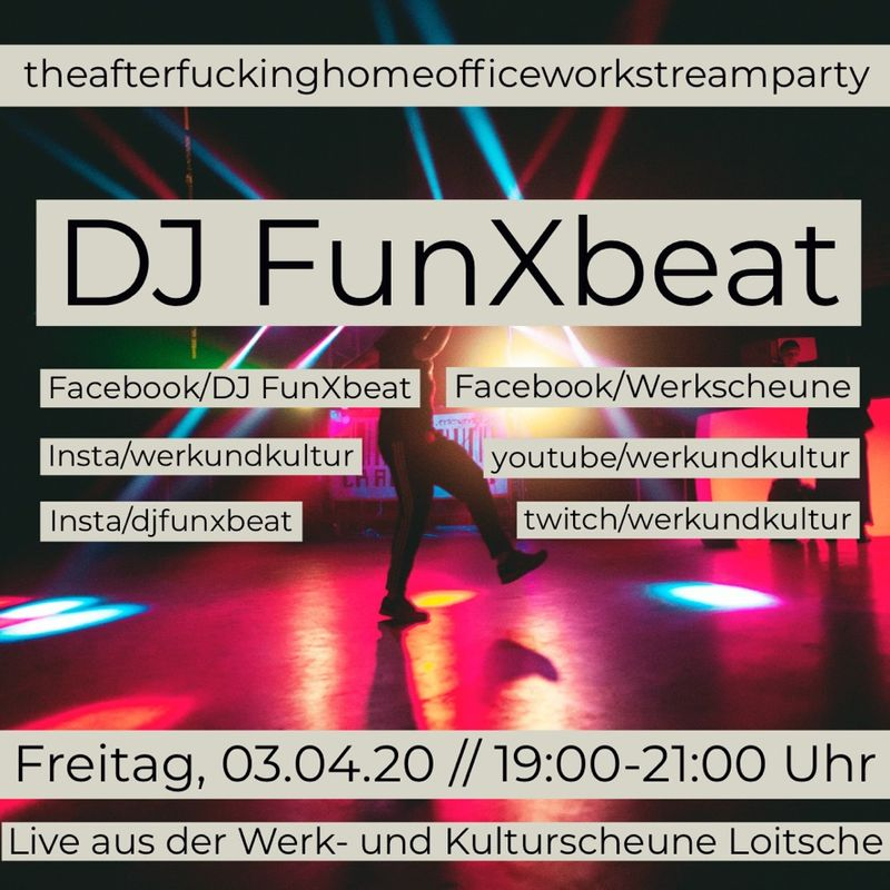 Am 03.04.20  Afterworkclub #2